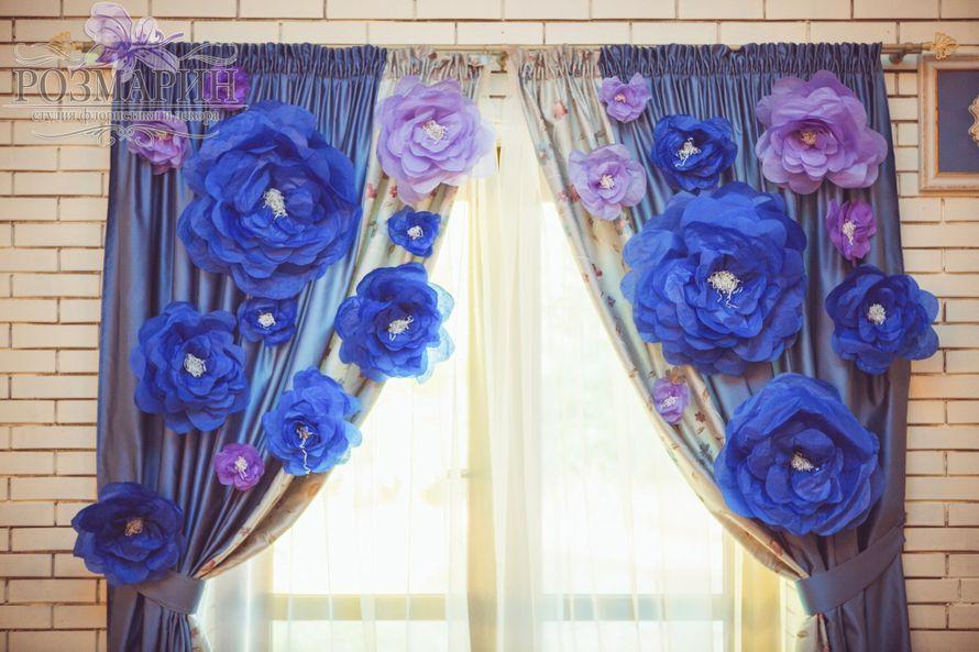 Как сделать своими руками большие бумажные цветы