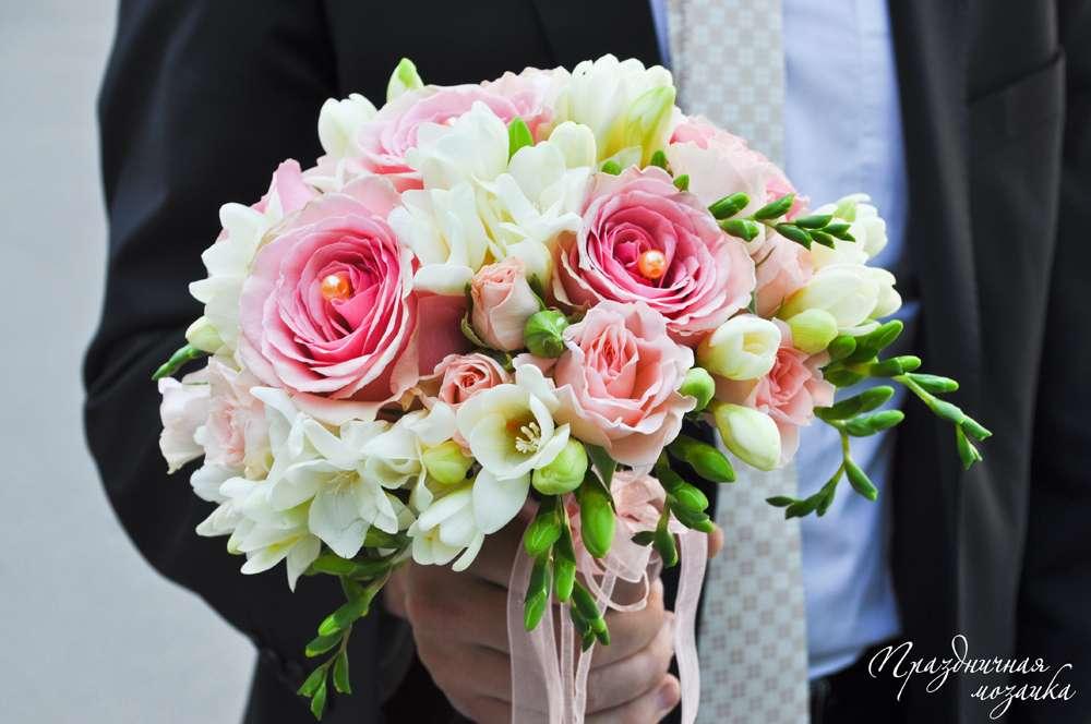 """Фото 7424130 в коллекции Букет невесты - Студия флористики и декора """"Праздничная мозаика"""""""