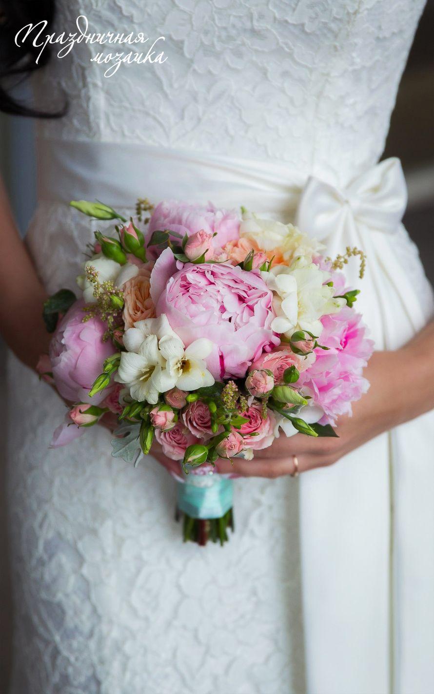 """Фото 7424136 в коллекции Букет невесты - Студия флористики и декора """"Праздничная мозаика"""""""