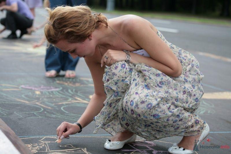 """Фото 29721 в коллекции Встреча """"Невеста.info"""" на Воробьёвых горах 12 июля 2009 года"""
