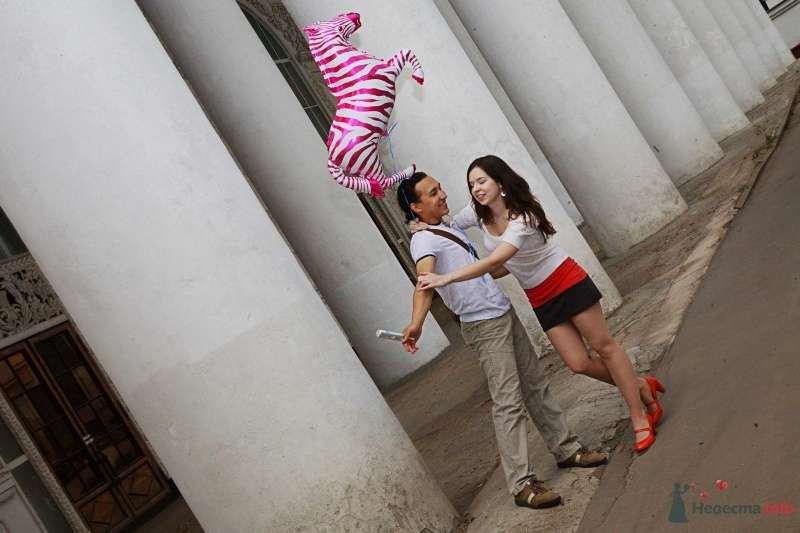 Соня и Раниль. Прогулка по ВВЦ - фото 67414 Фотограф Ирина Бруй
