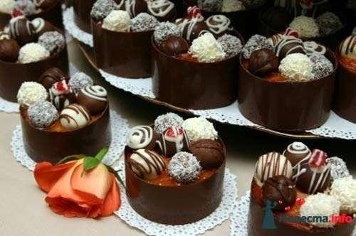 Украшение тортов и пироженных в фотографиях
