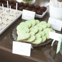 Свадьба в бело-зеленых тонах