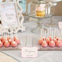 Свадьба в белых, голубых и розовых тонах