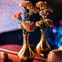 """Декор и флористика для не большой осенней свадьбы в лофте в цветах """"Золото и Шоколад"""" для Антона и Валерии"""
