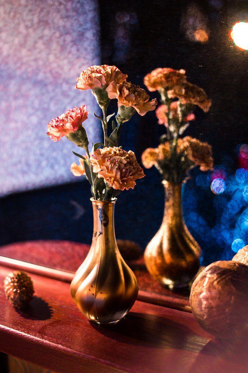 """Декор и флористика для не большой осенней свадьбы в лофте в цветах """"Золото и Шоколад"""" для Антона и Валерии - фото 16254218 Свадебный распорядитель Шамшина Мария"""