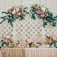 Президиум.  Декор Love Letter Wedding Фото Марина Назарова