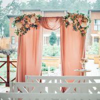 Арка выездной регистрации.  Декор Love Letter Wedding Фото Марина Назарова