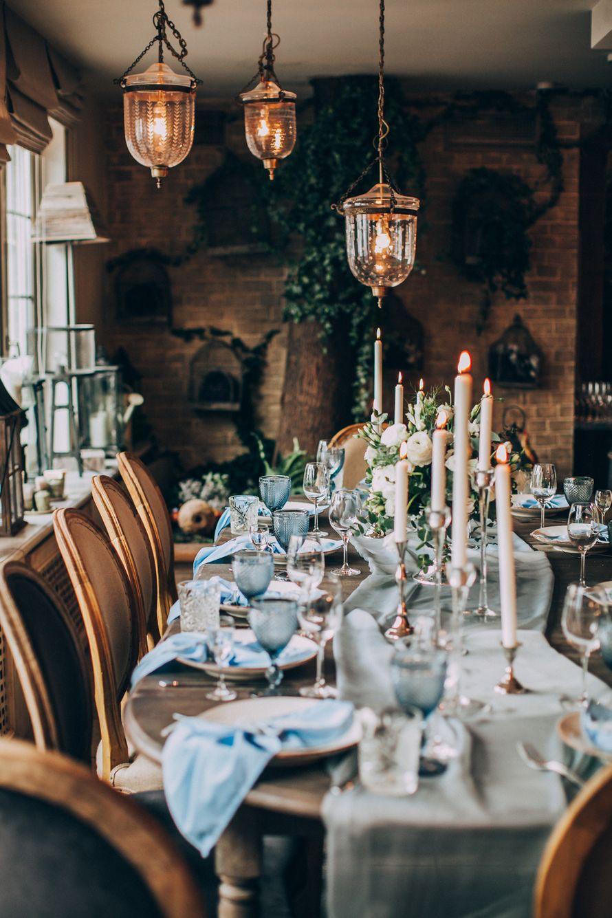 Очень уютное и стильное оформление банкета на уютной, камерной свадьбе. Невероятно красивое сочетание дерева и нежных цветов. Свечи создают неповторимую атмосферу! Концепция, декор, флористика Аня Малышева. Фото Марина Назарова. - фото 10236990 Фотограф Марина Назарова