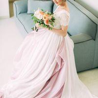 Образ невесты, Свадебное платье, букет невесты