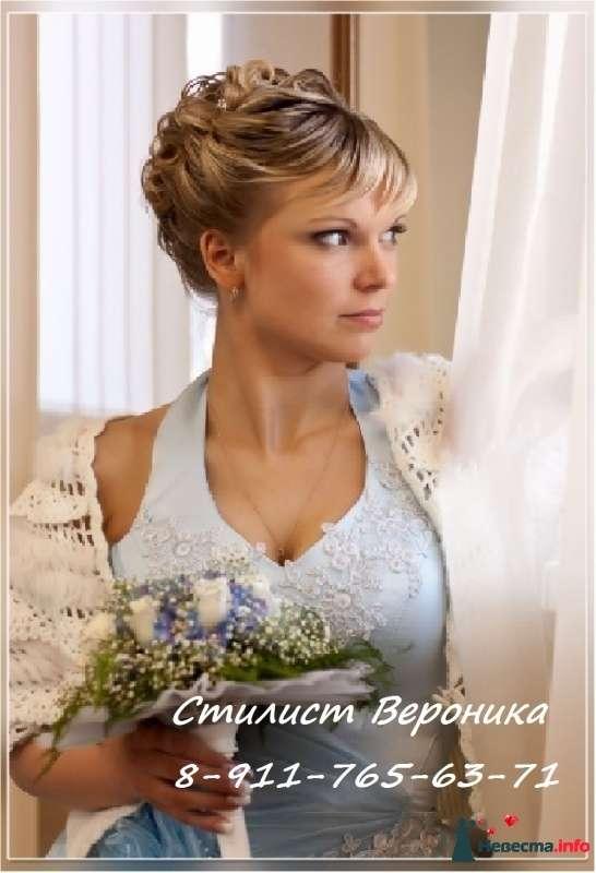 Фото 309339 в коллекции Мои невесты (прически и макияж) - Стилист Вероника Краснова