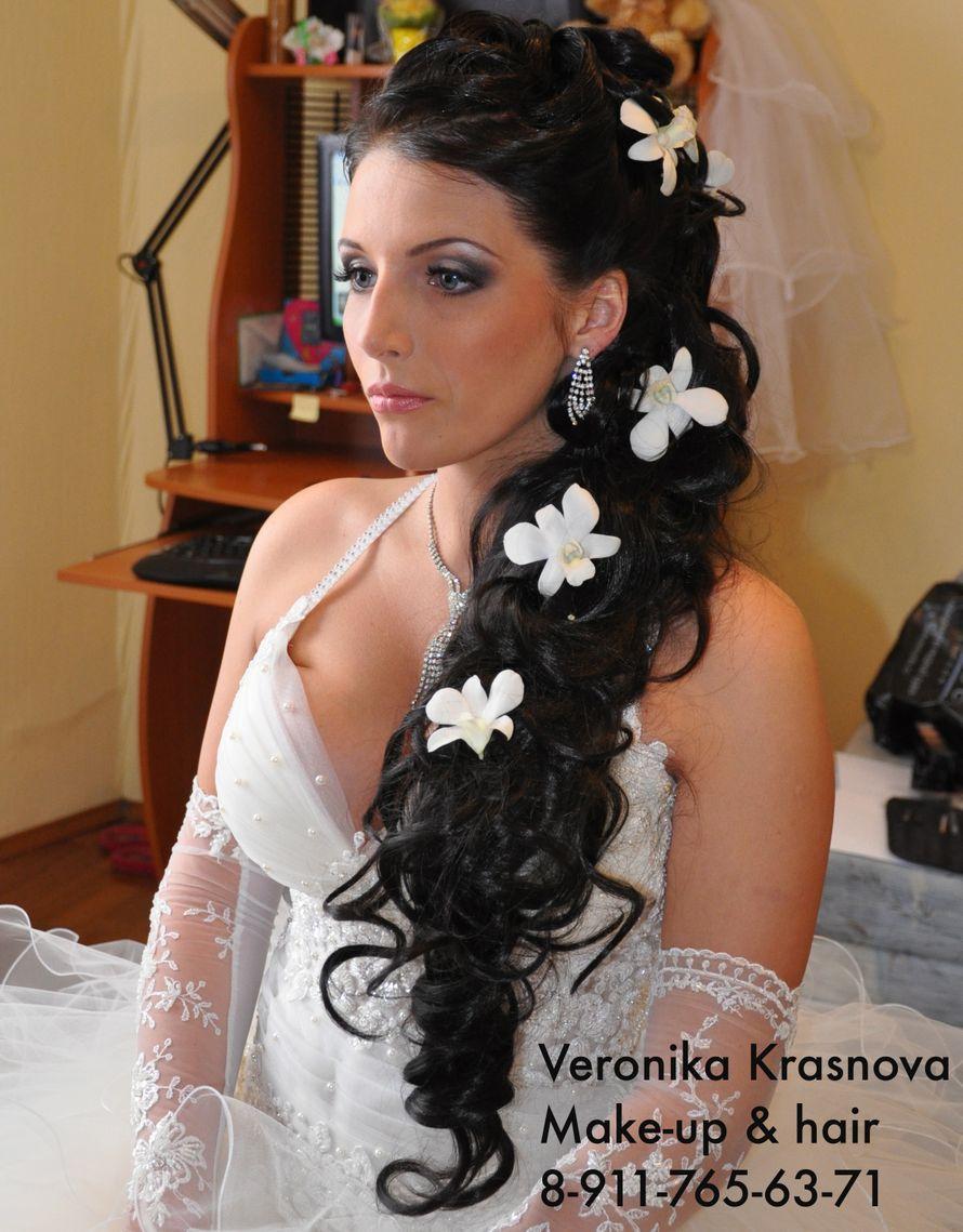 Фото 859115 в коллекции Мои невесты (прически и макияж) - Стилист Вероника Краснова