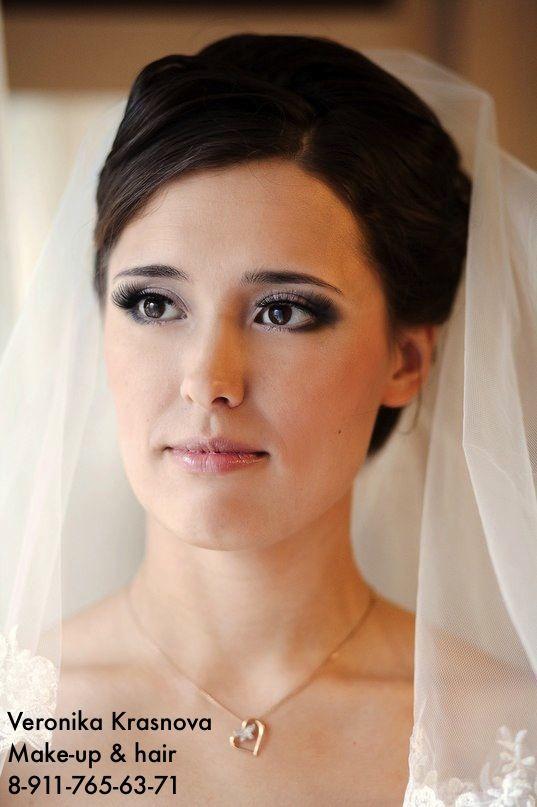 Фото 859121 в коллекции Мои невесты (прически и макияж) - Стилист Вероника Краснова