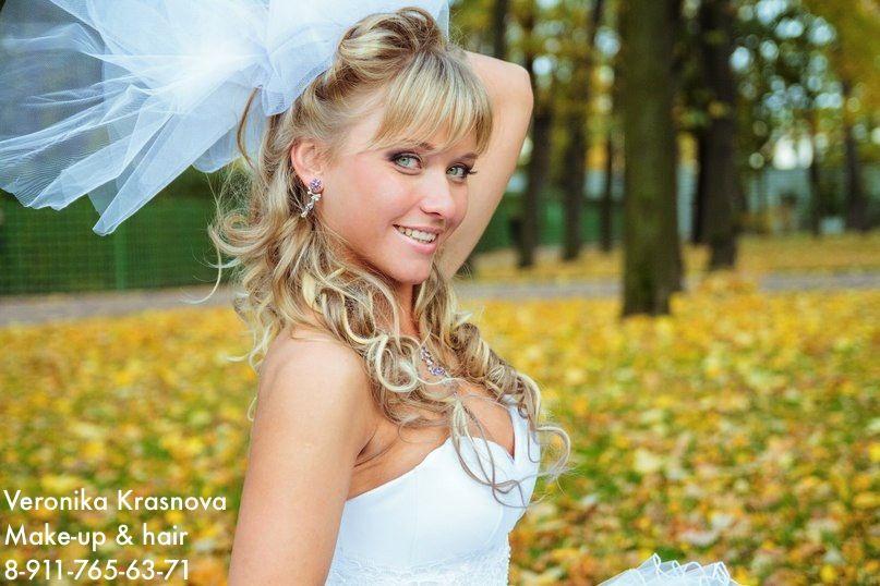 Фото 859127 в коллекции Мои невесты (прически и макияж) - Стилист Вероника Краснова