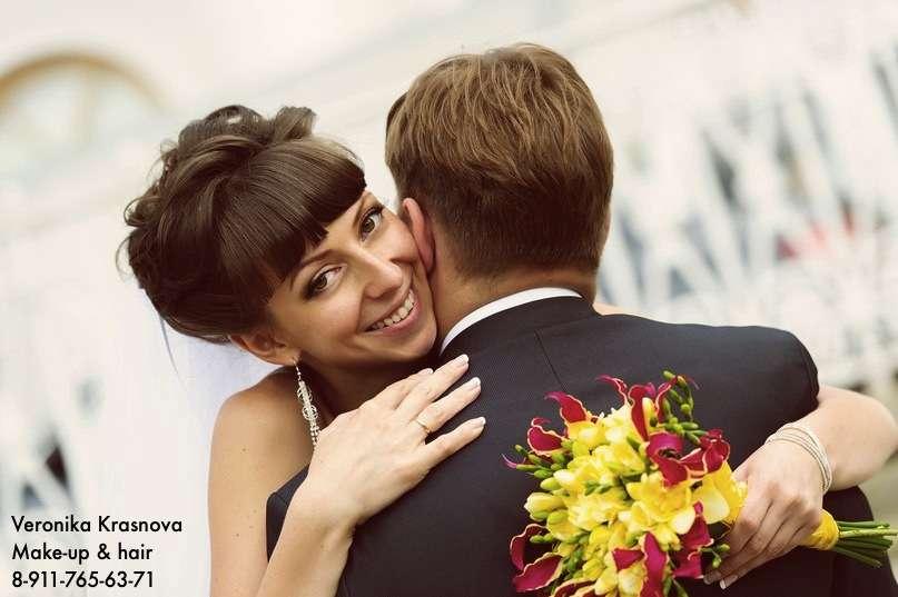 Фото 1173279 в коллекции Мои невесты (прически и макияж) - Стилист Вероника Краснова