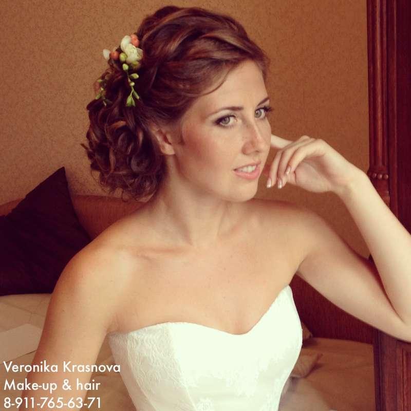 Фото 1173289 в коллекции Мои невесты (прически и макияж) - Стилист Вероника Краснова
