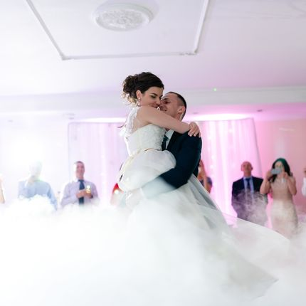 Тяжелый дым на свадьбу (танец в облаках)