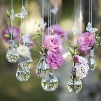 лампочки с цветами