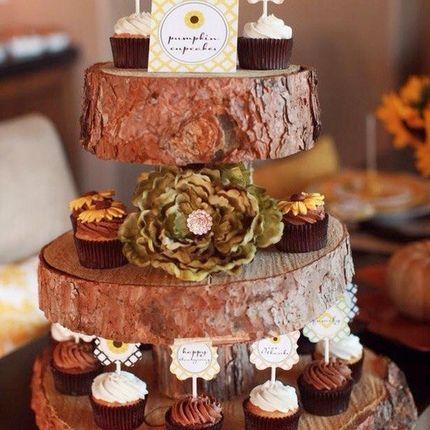 Декор свадьбы в стиле Рустик