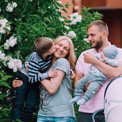 Семейная фотосъёмка 2 часа
