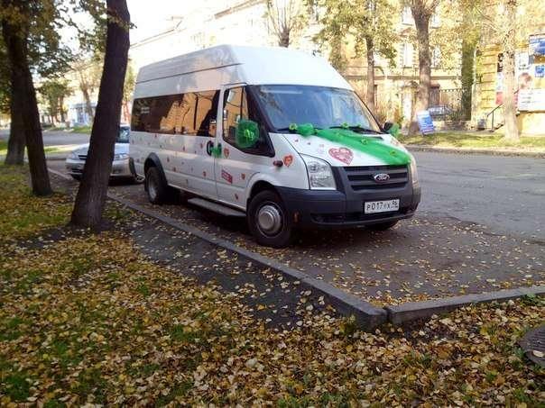"""Фото 3846157 в коллекции микроавтобус, автобус, лимузин, заказ Нижний Тагил - """"Автобусы Тагила"""" - свадебный кортеж"""