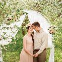 Свадьба весной. Brides decor