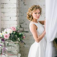 Анна Модель:  Прическа и макияж: Александра Епишина  Платье: Алла Ермилова