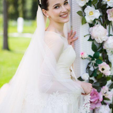 Свадебный образ в день свадьбы
