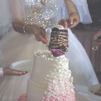 Монтаж свадебного клипа в день мероприятия