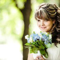 свадебный макияж и прическа для Ольги)