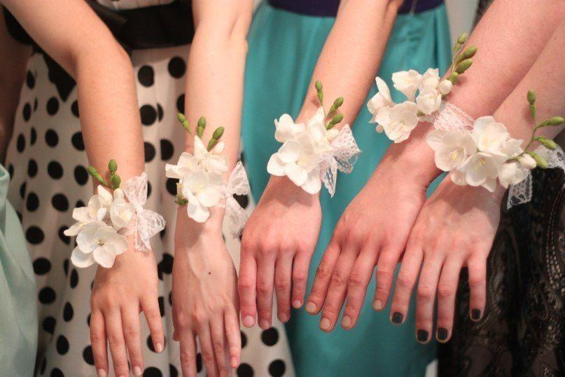 Браслеты подружкам невесты мастер класс