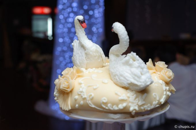 Сахарное фото торт