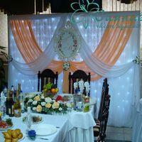 Оформление свадьбы Чебоксары (персиковый цвет)
