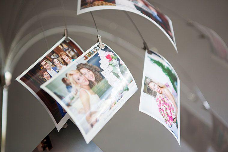 фотопечать на свадьбе изысканный, комплект