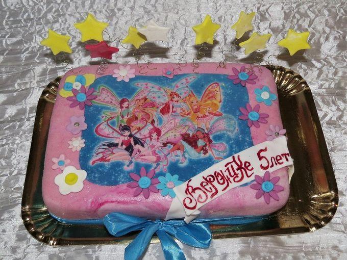 Заказать торт винкс фото