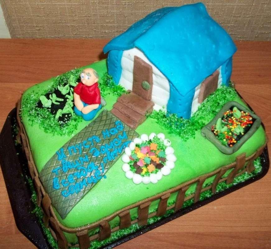 счастью, торты на новоселье загородного дома фото представленный рендерах