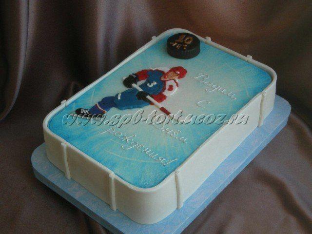 Торт хоккей фото