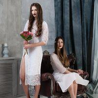 Свадебные платья из натуральных тканей