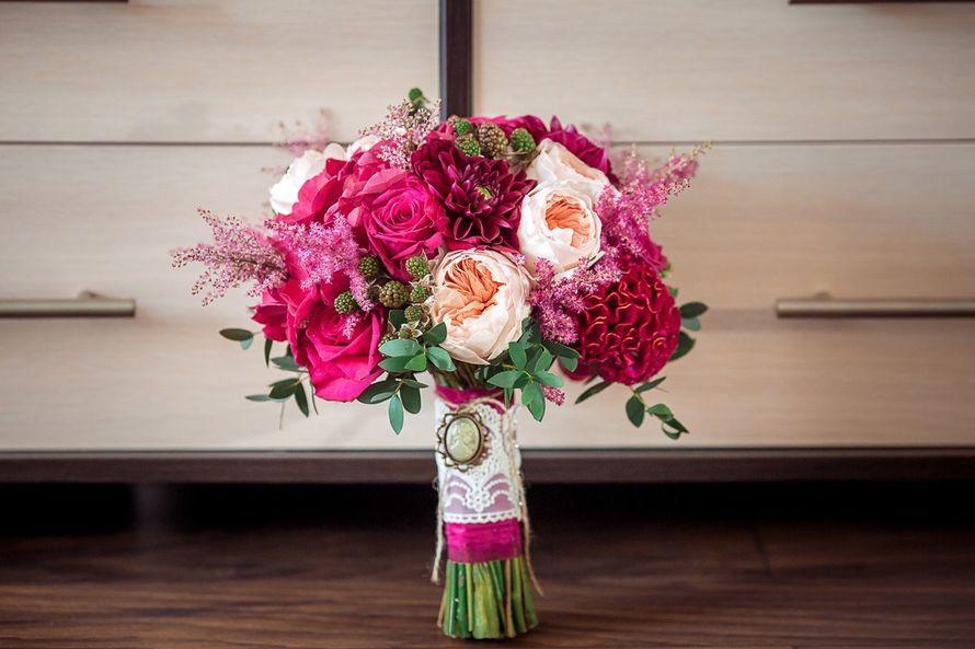 Фото 14006104 в коллекции Свадебные букеты - Магазин цветов Фрезия