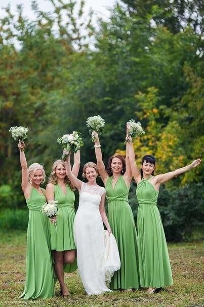Фото 4077879 в коллекции Подружки невесты - Платья для подружек невесты LeQ
