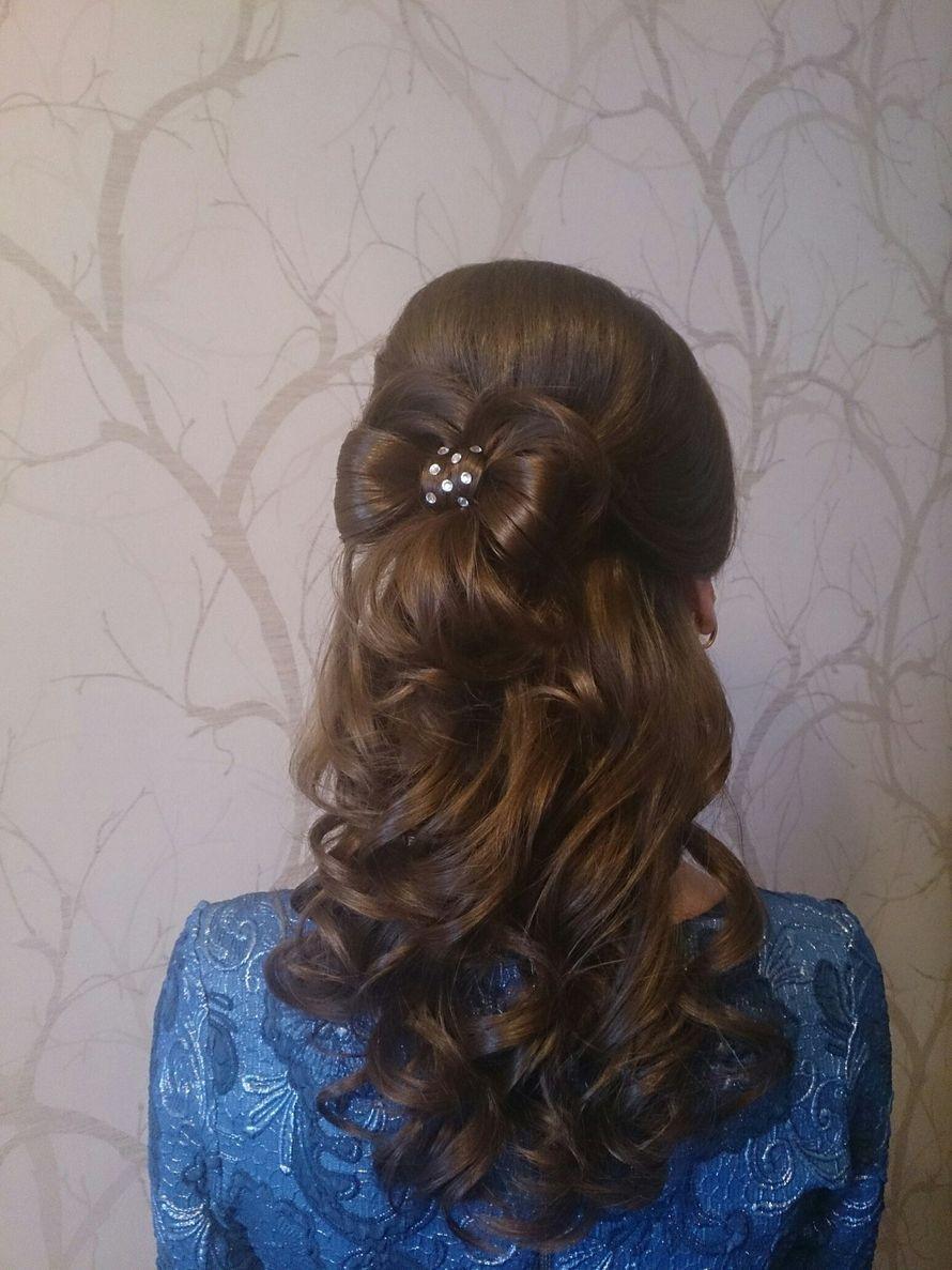 Прическа для подружки невесты - фото 7058218 Стилист Тимошенко Екатерина