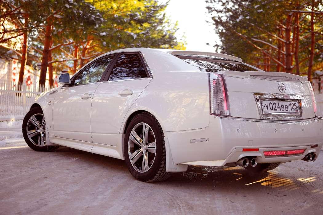 Фото 4116001 в коллекции свадебный автомобиль Cadillac CTS - Cadillac CTS - аренда авто на свадьбу