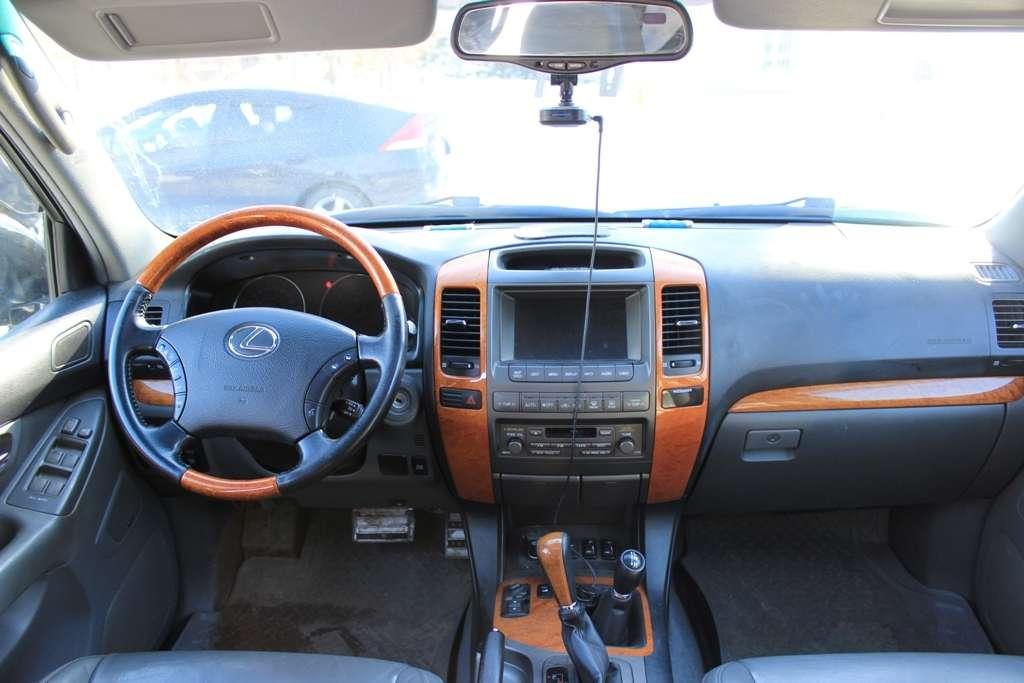 Lexus GX 470, цвет — черный металик, салон — серая кожа, раздельный климат контроль, вентиляция + подогрев сидений, люк.  Выбирайте цель - мы предложим путь!  Модно! Стильно! Молодежно! - заказать авто надежный! - фото 4167359 Компания VIP-auto - автомобили