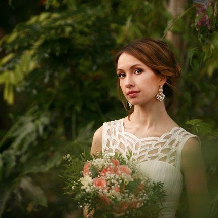 Репетиция свадебного макияжа и прически