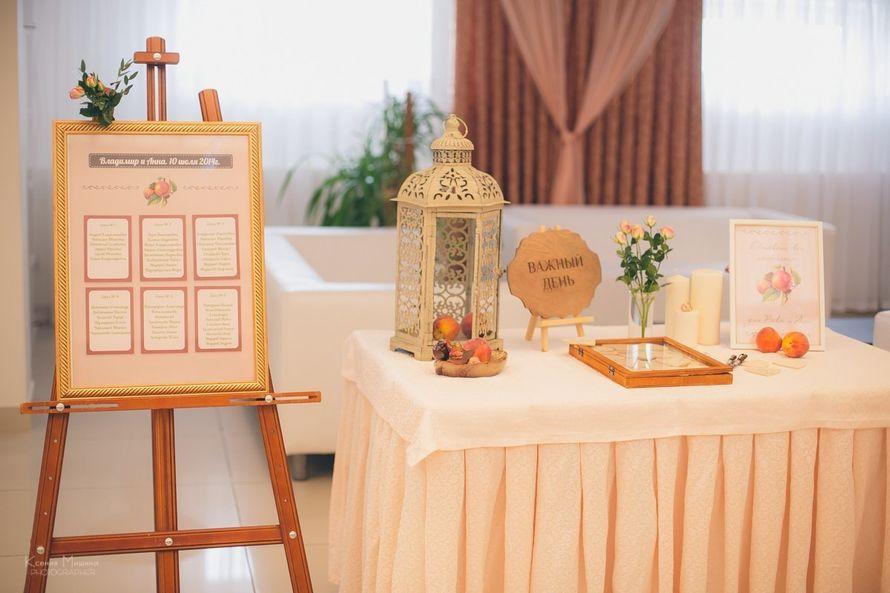 Фото 4192915 в коллекции Персиковая свадьба 10 июля 2014 - Мятный Лимон мастерская декораций