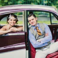 Свадьба Дениса и Галины - свадьба с стиле арт деко, Великий Гэтсби