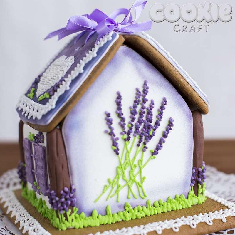 """Свадебный пряничный домик в стиле """"Прованс"""" - фото 9705836 Cookie craft - пряники и тортики ручной работы"""