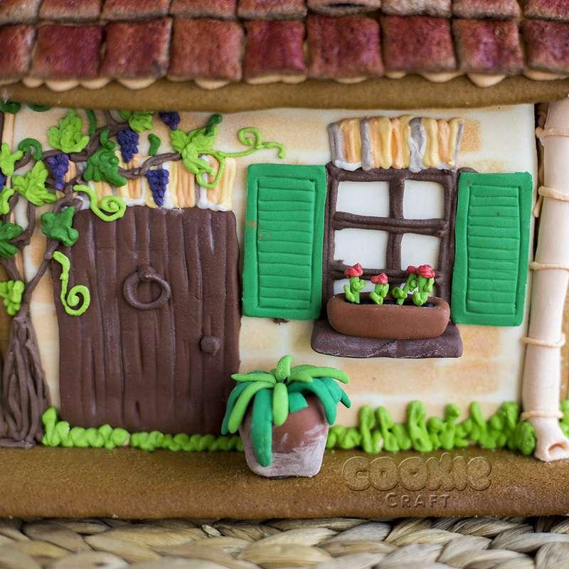 Пряничный домик на берегу Средиземного моря - фото 9705854 Cookie craft - пряники и тортики ручной работы