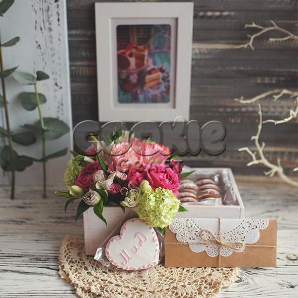 Свадебные цветы и пряники - фото 14855174 Cookie craft - пряники и тортики ручной работы