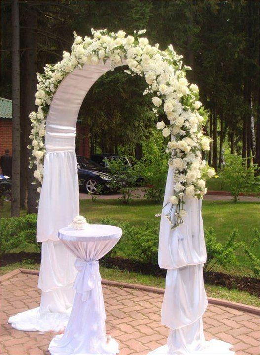 Как сделать свадебная арка
